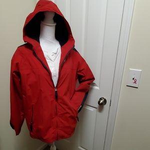 Like New Women's Abercrombie Hooded Coat